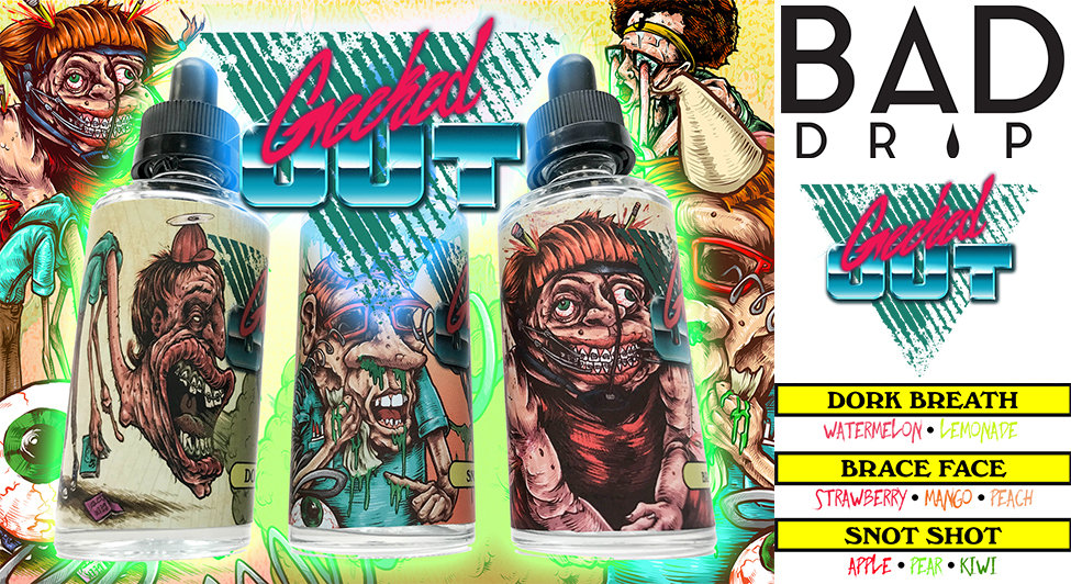 Geeked Out e-liquids by Bad Drip Labs